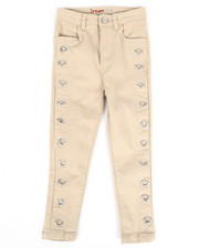 Sizes 2T-4T - Toddler - Twill Pants w/ Grommet Detail (2T-4T)-2275462