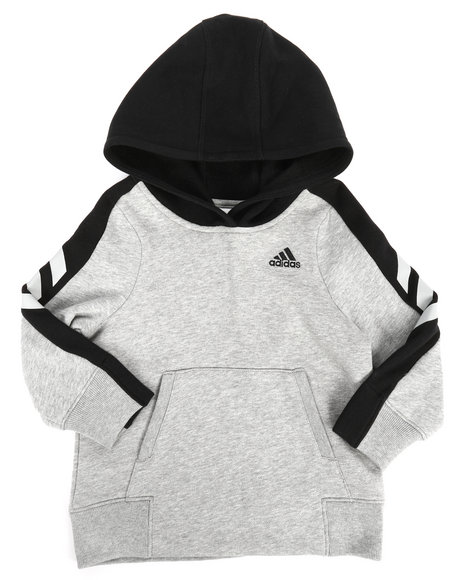 Adidas - Altitude Heather Pullover Hoodie (2T-4T)