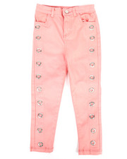 Sizes 2T-4T - Toddler - Twill Pants w/ Grommet Detail (2T-4T)-2275482