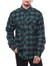 Mens-Fall - Plaid Flannel LS Shirt-2276826