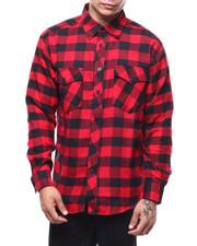 Mens-Fall - Plaid Flannel LS Shirt-2276832