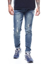 Jeans & Pants - Distressed Jean- River Wash-2276842