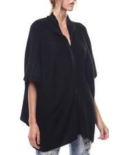 Fashion Lab - Zip Up Knit Ruana-2275772