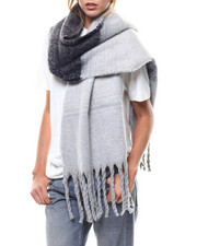 Fashion Lab - Brushed Stripe Noodle Scarf-2275827