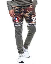 Copper Rivet - Camo Colorblock Jogger-2276713