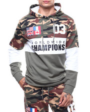 Copper Rivet - Camo ColorBlock Hoody-2276787