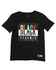 Tops - Black Pyramid Kids Tee (4-7)-2276138