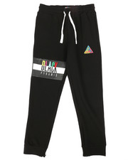 Bottoms - Black Pyramids Kids Sweatpants (8-20)-2276517