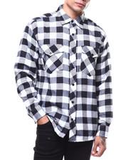 BLVCK - Plaid Flannel LS Shirt-2276837