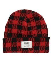 Hats - Check Beanie-2276849