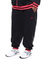 Sweatpants - Flat Knit Trimmed Sweat Pant (B&T)-2277109