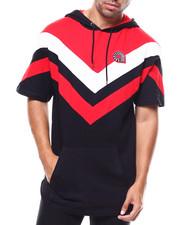 T-Shirts - WOODSIDE CHEVERON S/S HOODY-2277357