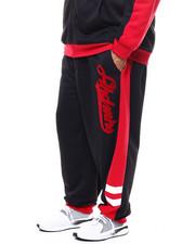 Akademiks - Flocking And Stripe Sweat Pant (B&T)-2277100