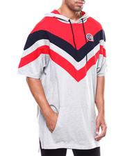 T-Shirts - WOODSIDE CHEVRON S/S HOODY-2277342