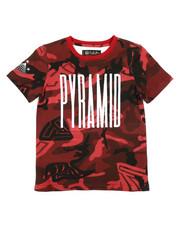 Tops - Camo Pyramid Kids Tee (4-7)-2276157