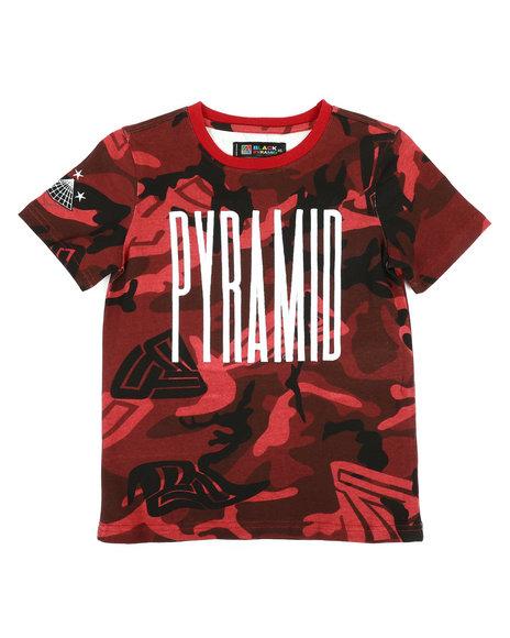 Black Pyramid - Camo Pyramid Kids Tee (4-7)