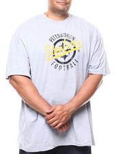 T-Shirts - Steelers HT Grey Tee (B&T)-2277072