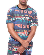 Rich Star - ALL OVER LOGO SCRIPT TEE-2277521