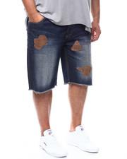 Shorts - Patch Denim Short (B&T)-2277108
