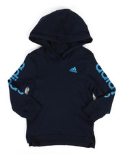 Adidas - Branded Linear Sleeve Hooded Tee (2T-4T)-2276017