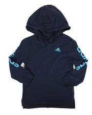 Adidas - Branded Linear Sleeve Hooded Tee (4-7X)-2276020