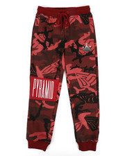 Black Pyramid - Camo Pyramid Kids Sweatpants (8-20)-2276955