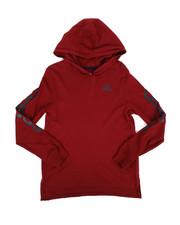 Tops - Branded Linear Sleeve Hooded Tee (8-20)-2276012