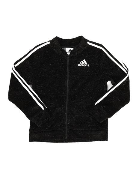 Adidas - Velour Bomber Jacket (7-20)