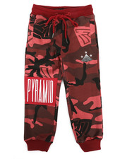 Black Pyramid - Camo Pyramid Kids Sweatpants (4-7)-2276968