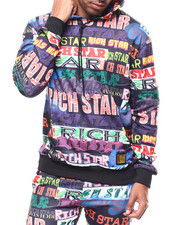 Rich Star - ALL OVER LOGO SCRIPT HOODY-2277553