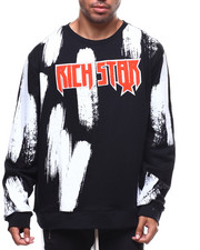 Sweatshirts & Sweaters - PAINTED LOGO SWEATSHIRT-2277510