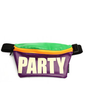Scratch Tracks - Werds Glow in the Dark Party Neon Fanny Pack-2274374