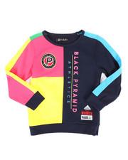 Sizes 4-7x - Kids - Athletic Color Kids Sweatshirt (4-7)-2276998