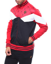Parish - TRACK POLY INTERLOCK JACKET-2277542
