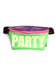 Scratch Tracks - Werds Glow in the Dark Party Neon Fanny Pack-2274372