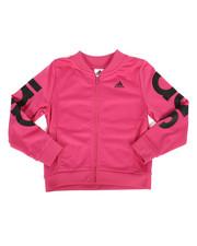 Sizes 7-20 - Big Kids - Cropped Adi Track Jacket (7-20)-2276500