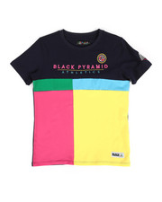 Sizes 8-20 - Big Kids - Athletic Color Kids Tee (8-20)-2276984
