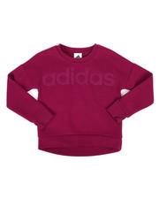 Sizes 7-20 - Big Kids - Cropped Pullover Sweatshirt (7-20)-2277130