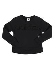 Sizes 7-20 - Big Kids - Cropped Pullover Sweatshirt (7-20)-2277140