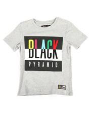Tops - Black Pyramid Kids Tee (4-7)-2276096