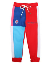 Bottoms - Athletic Color Kids Joggers (4-7)-2276976