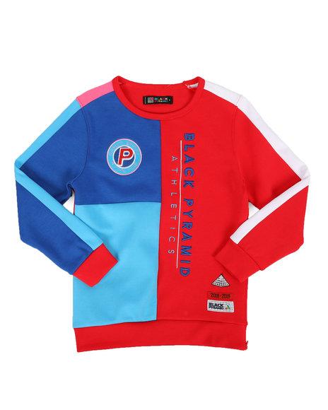 Athletic Color Kids Sweatshirt (4 7) by Black Pyramid