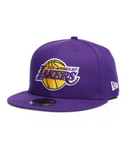 NBA, MLB, NFL Gear - 9Fifty Los Angeles Lakers Snapback Hat-2277238