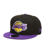 NBA, MLB, NFL Gear - 9Fifty Los Angeles Lakers 2Tone Snapback Hat-2277237