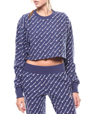 Champion - All Over Print Rw Cropped Cut Off Crew-2276445