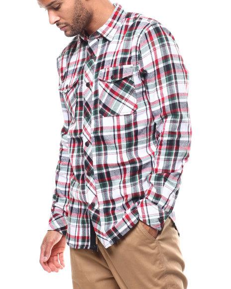 Jordan Craig - Plaid Button down Shirt