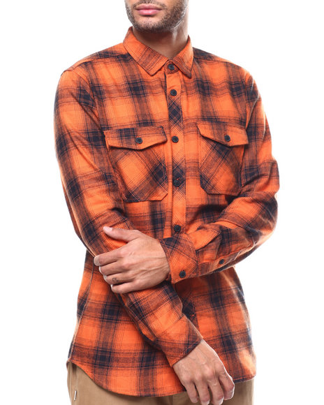 Jordan Craig - Plaid Button down Shirt