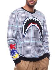 Sweatshirts & Sweaters - SHARK MOUTH GLEN PLAID SWEATSHIRT-2278126
