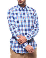 Nautica - L/S PLAID BUTTONDOWN-2277765