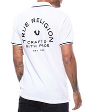 True Religion - CRAFTED W PRIDE POLO W TIPPING-2277499